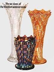 Basketweave Vases