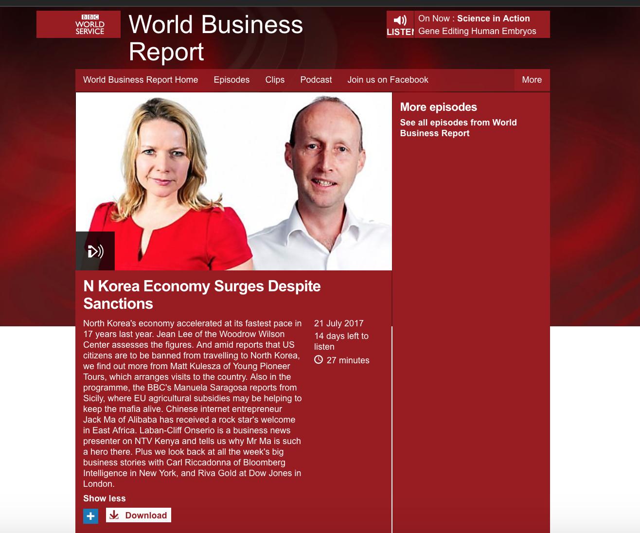 BBC WorldBizreport on NK economy Screen Shot 2017-07-21.png
