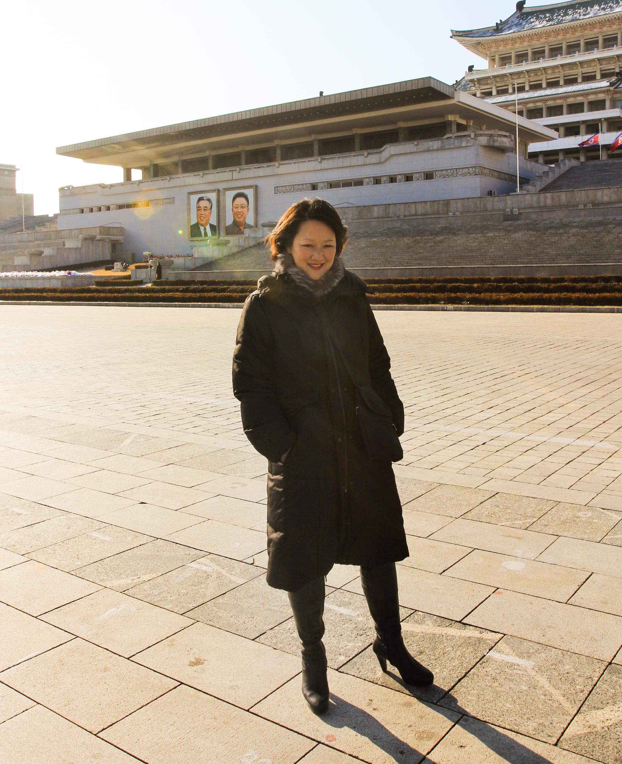 On Kim Il Sung Square