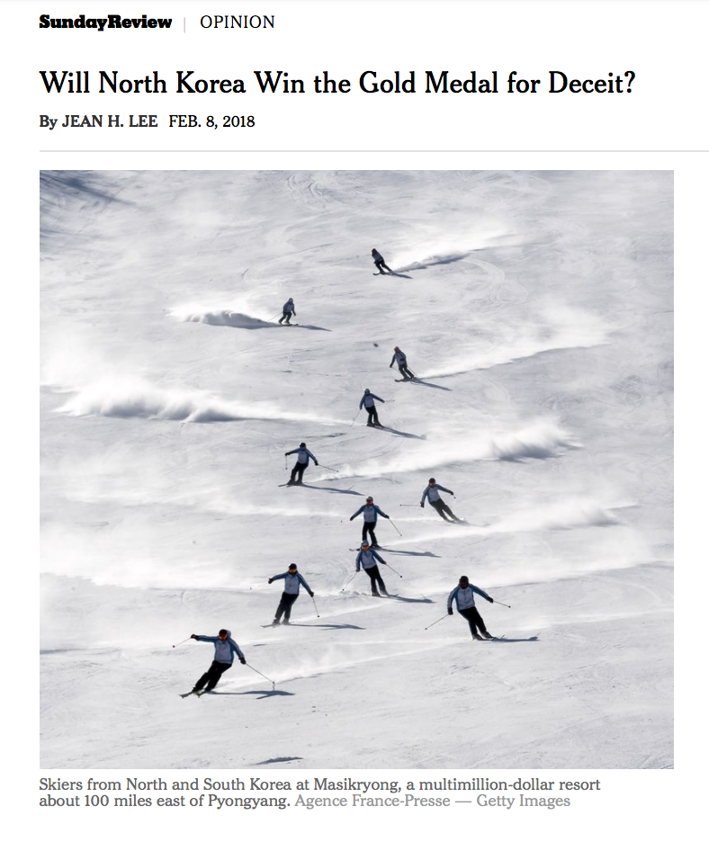NYT Will North Korea Win the Gold Medal.png