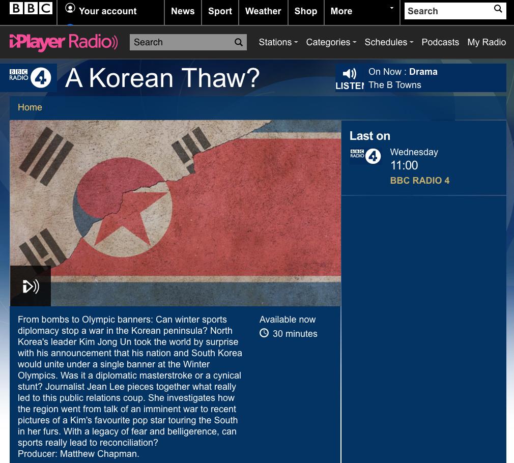 BBC Radio 4 A Korean Thaw.png