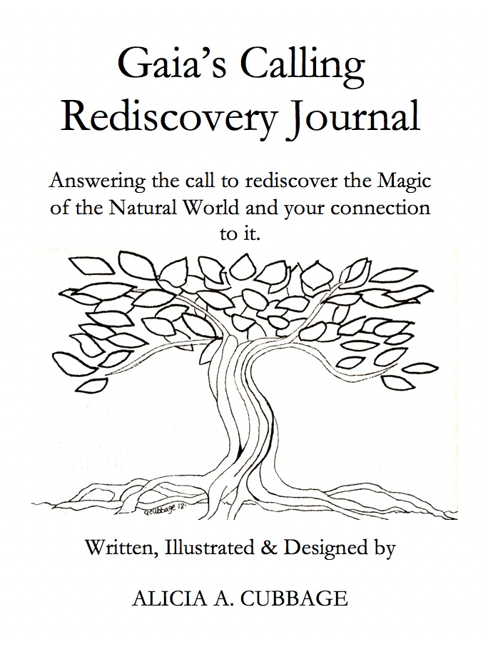 Here's a sneak peak at the journal title Page!