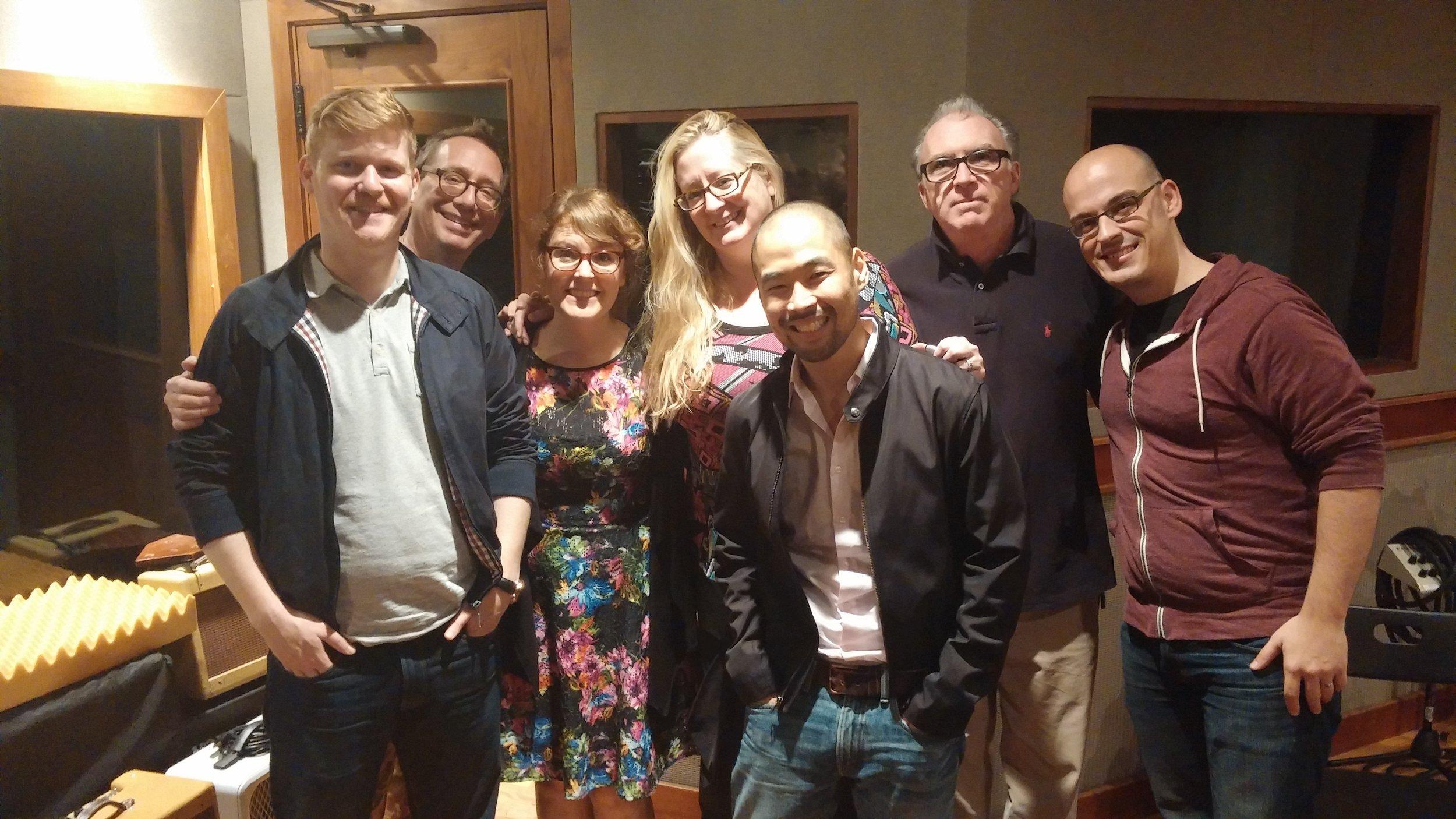 Talea Ensemble &Jim Baker with John Zorn at EastSide Sound in October