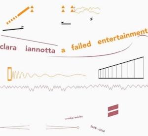 Clara Iannotta:  A Failed Entertainment  Talea Ensemble Edition RZ 2016