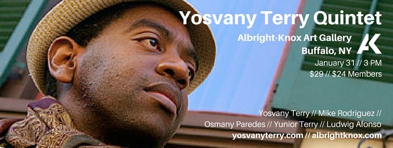 Yosvany Terry Quintet Albright-Knox Art Gallery