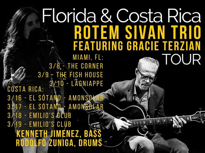Rotem Sivan Trio featuring Gracie Terzian