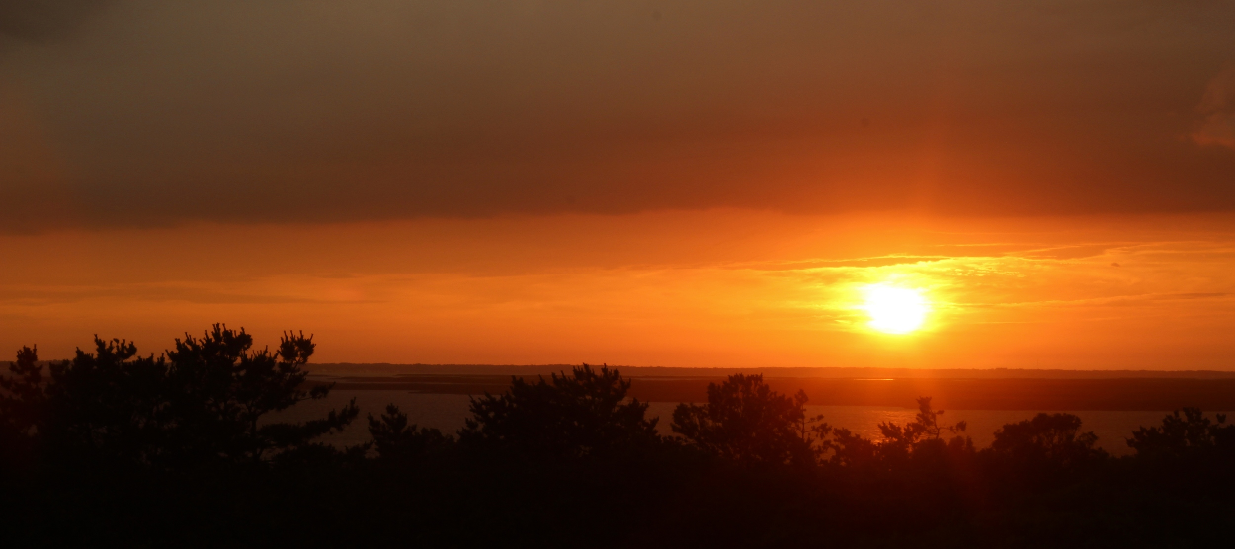 Sunset over the Bay