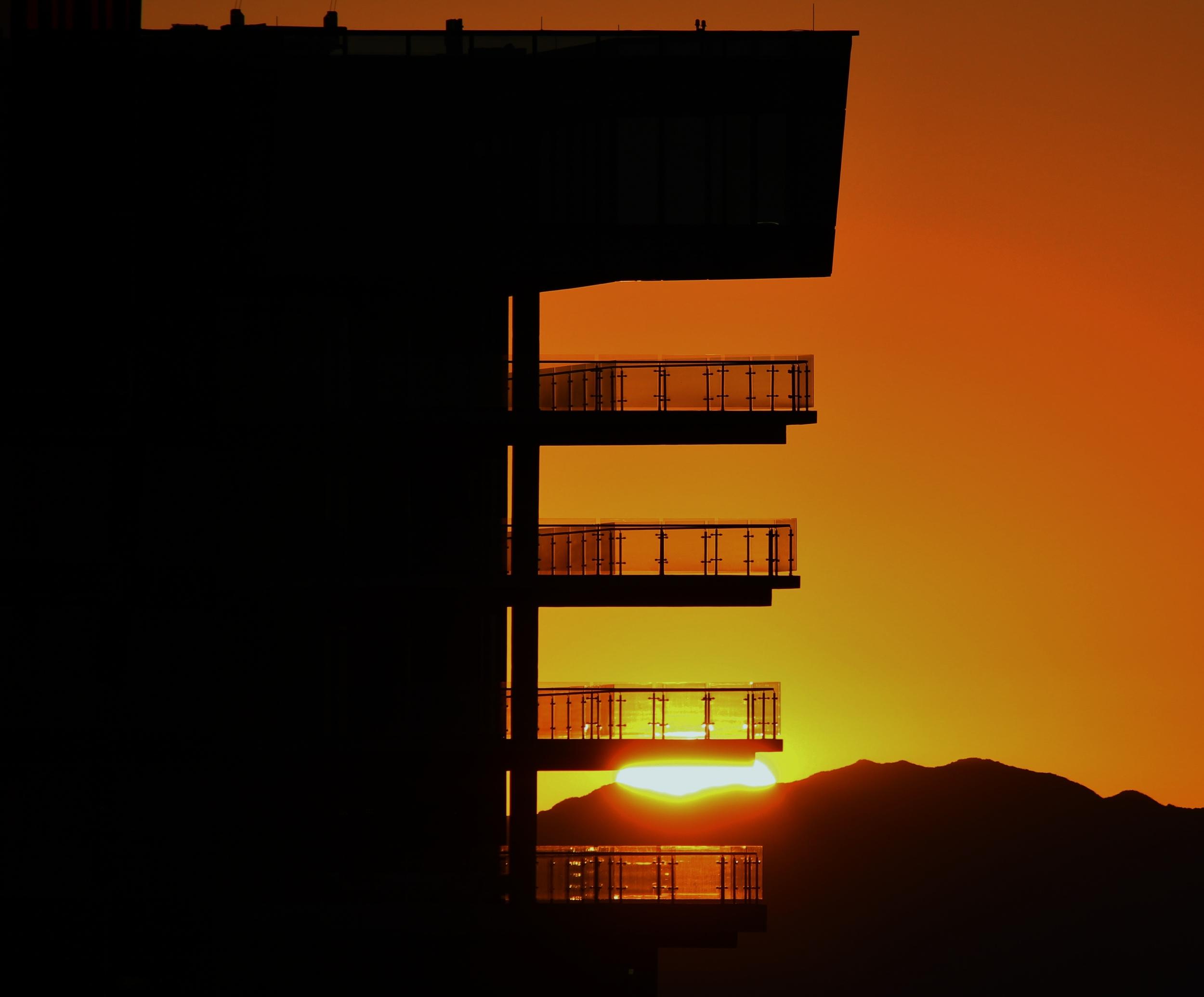 Sunrise Balcony