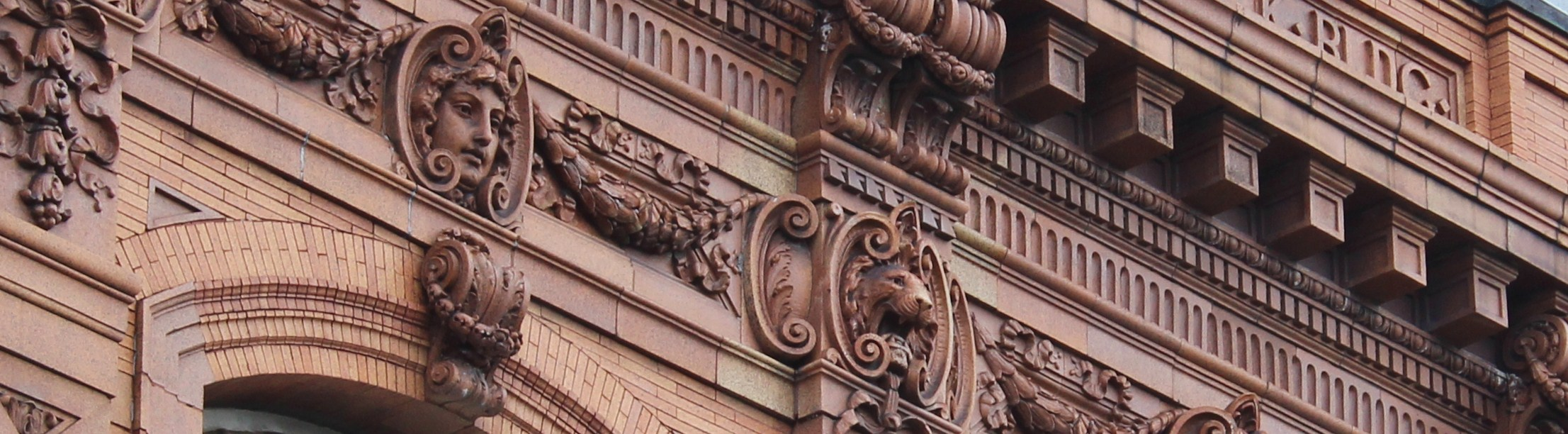 Ornate Building Facade