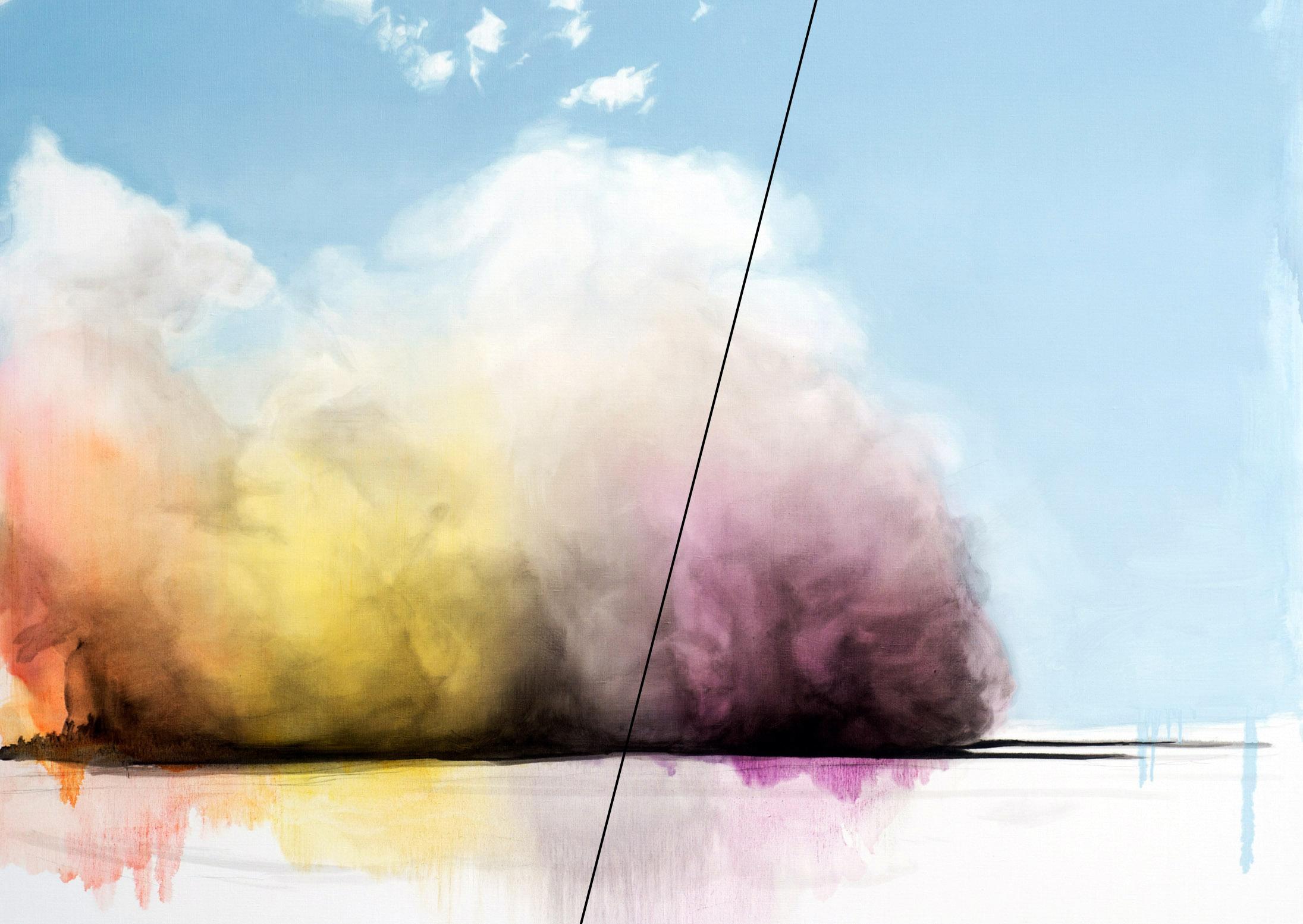 Spectral Dust Cloud / No Blue Skies