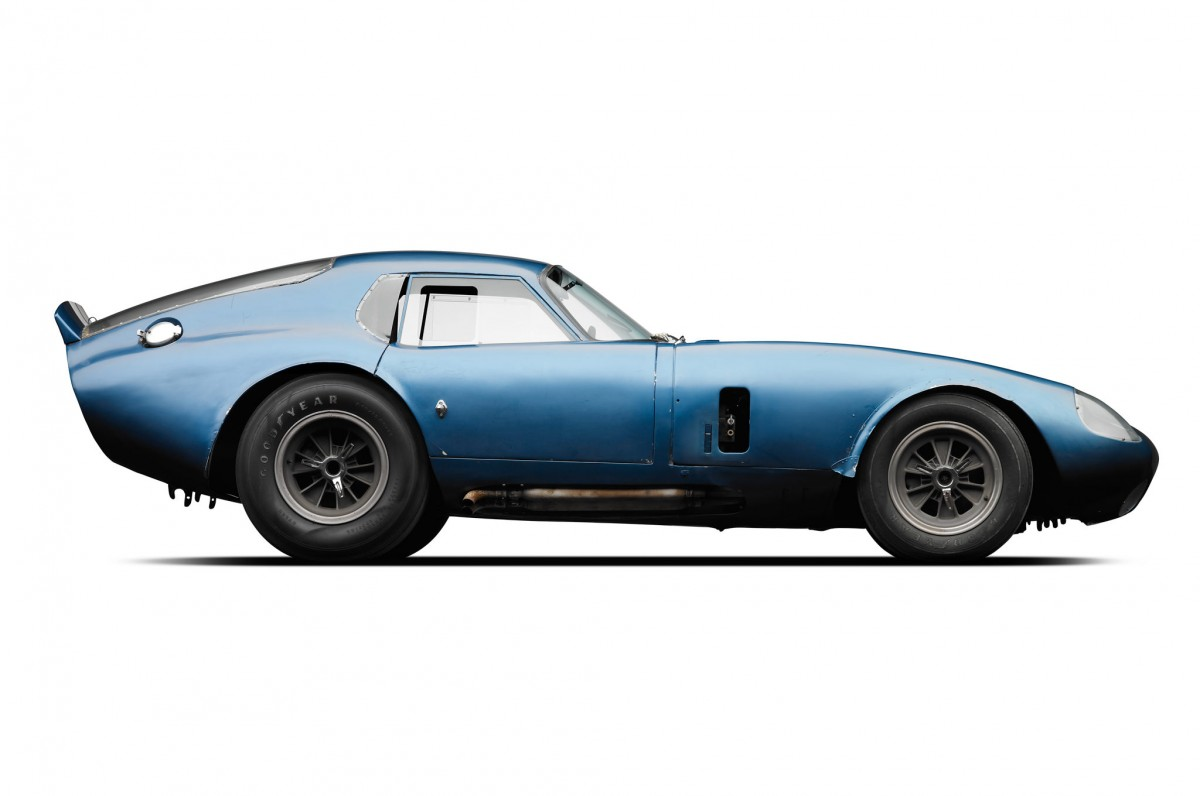 The beautiful, and highly effective, Shelby Cobra Daytona Coupe - designed by Pete Brock