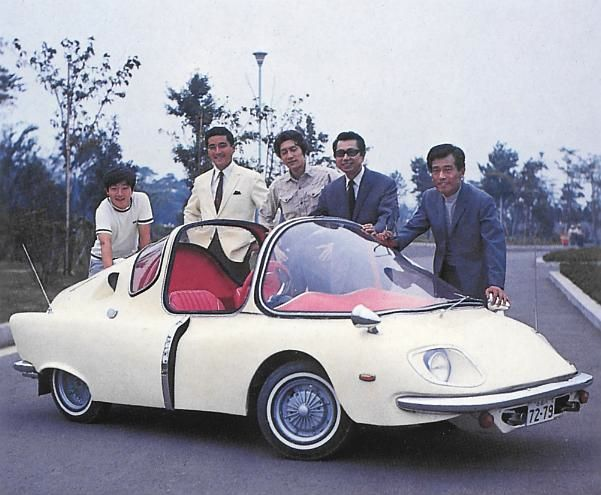 The 1967 Subaru 360 Custom