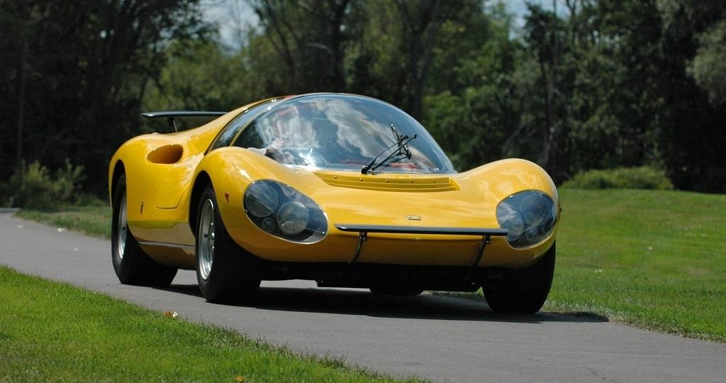 The 1 of 1 1967 Ferrari Dino 206 Competizione Prototipo