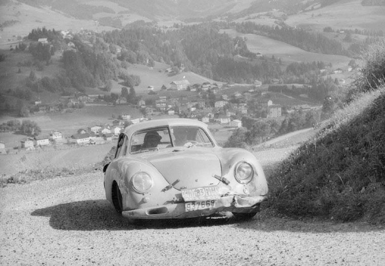 The Gmund Porsche Coupe racer