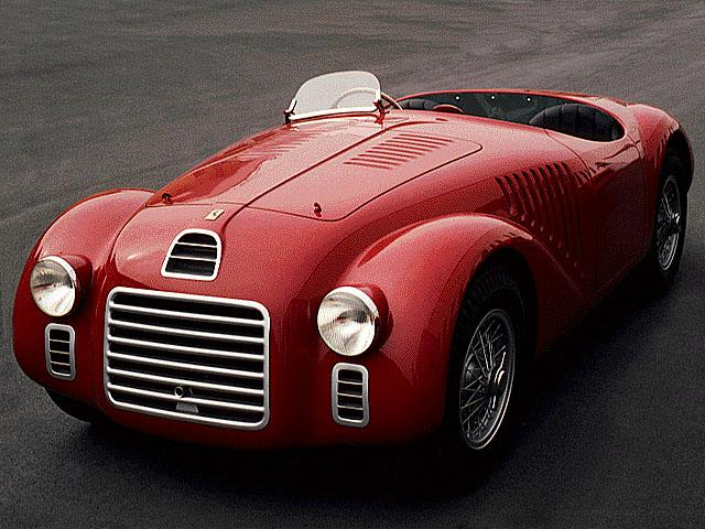 The first true Ferrari - the 125 S