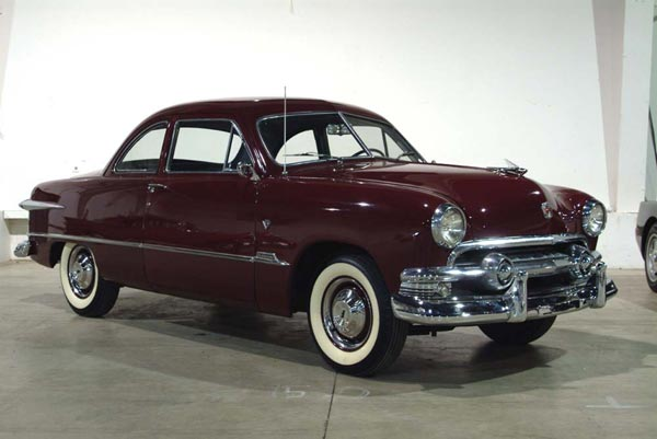 The 1949 Ford Victoria Coupe