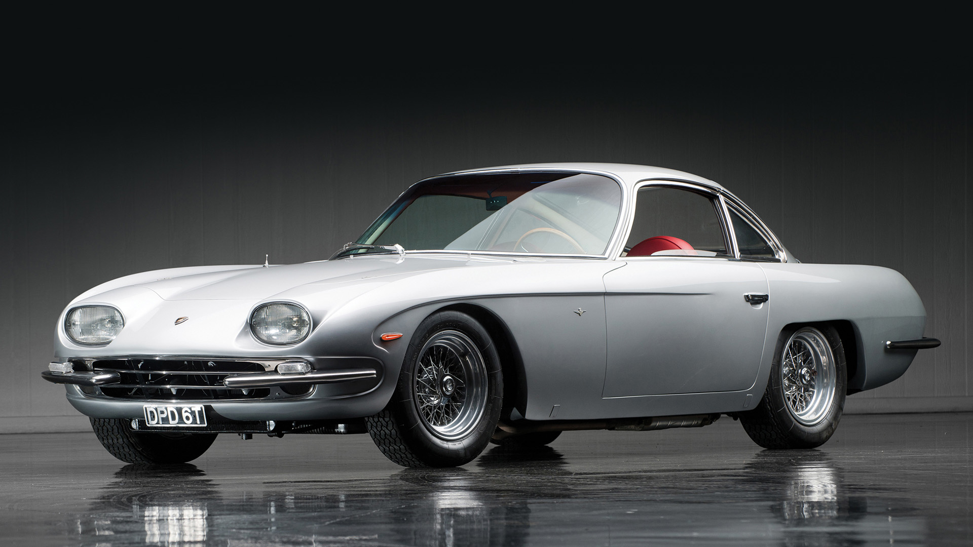 Lamborghini's first car - the 350 GT