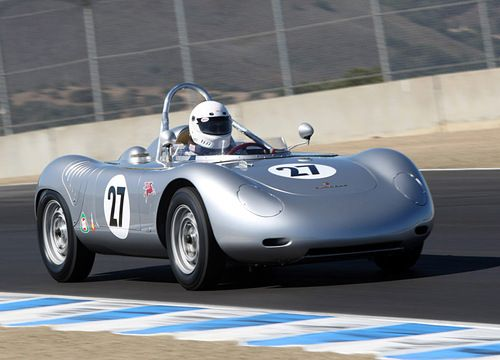 A 718 RSK converted to single-seater