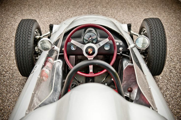 Cockpit of the 718 Formula 2 car