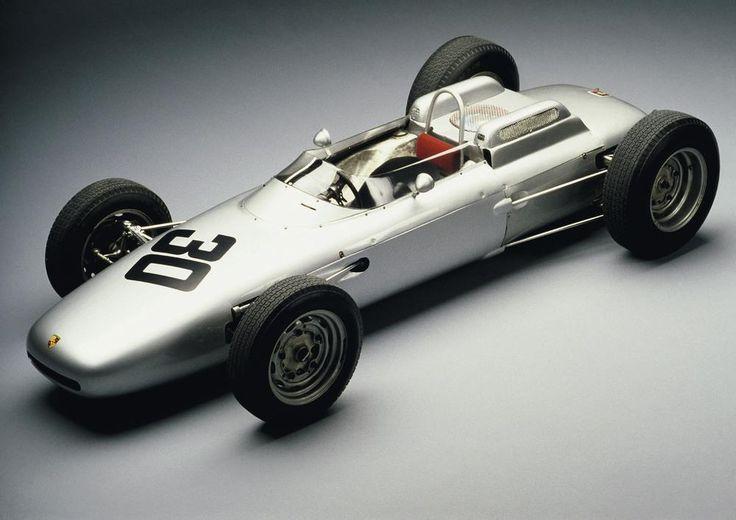 The Porsche 804 Formula One car