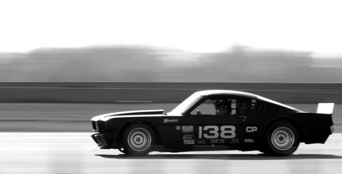 The beautiful Ford Mustang of Robert and Tracy Lewis