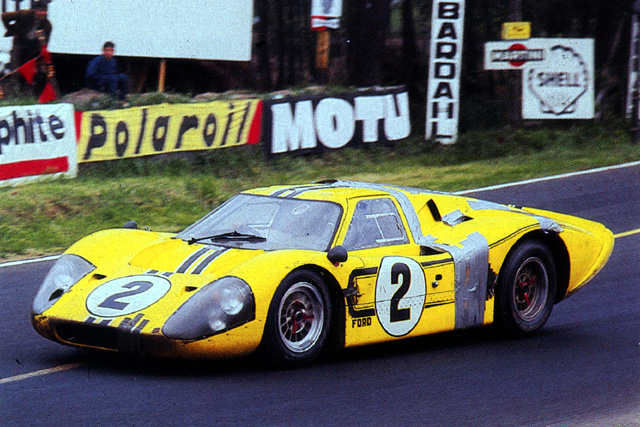 The McLaren / Donohue car