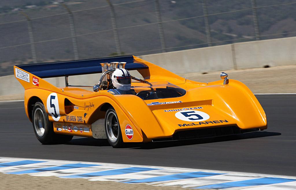 The McLaren M8F
