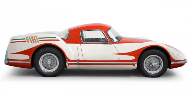 The jet age had come full-force to automotive design by the 50s. Fiat took it a step further than just design influence. In 1954 they introduced the Turbina - a gas turbine-powered car - which debuted 8 years before the Chrysler Turbine.    READ MORE HERE
