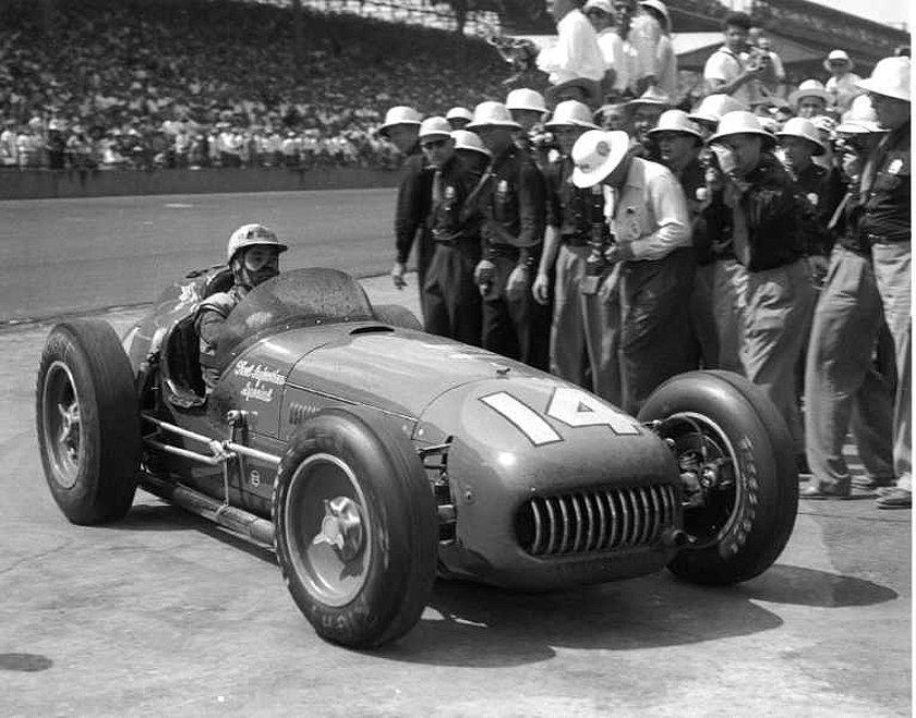 The 1953 Indy 500-winning Kurtis Indy Car