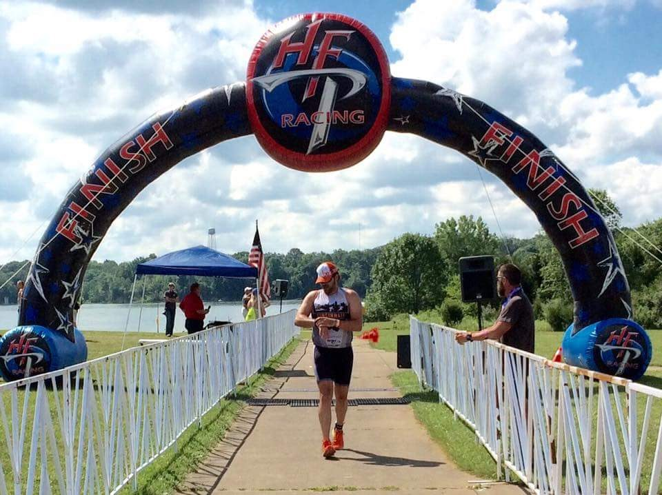 CLIENT finishing 2nd in his age-group recently. Ran pain-free.