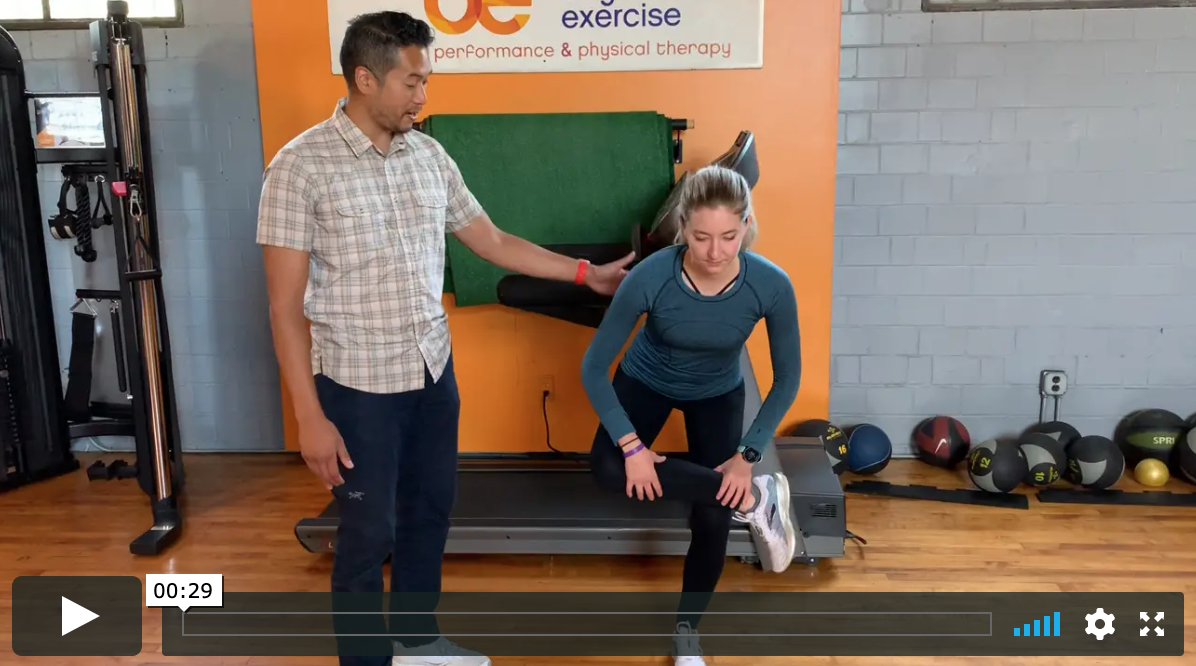 Learn the recommended static and dynamic stretching movements that we use to help runners/walkers prevent injuries.
