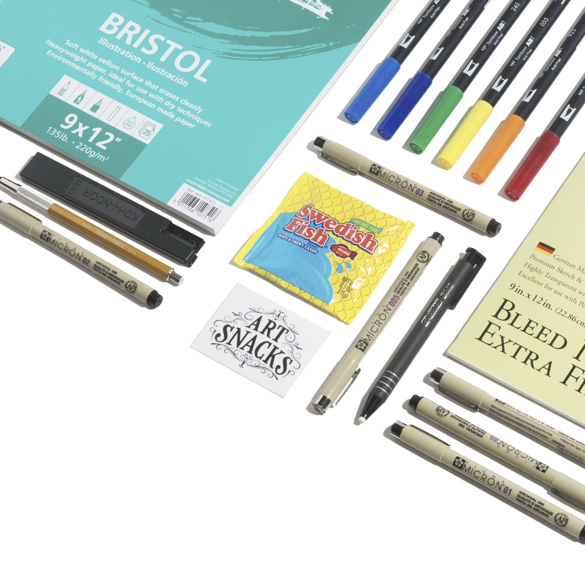 Artsnacks The Best Monthly Art Supply Subscription Box