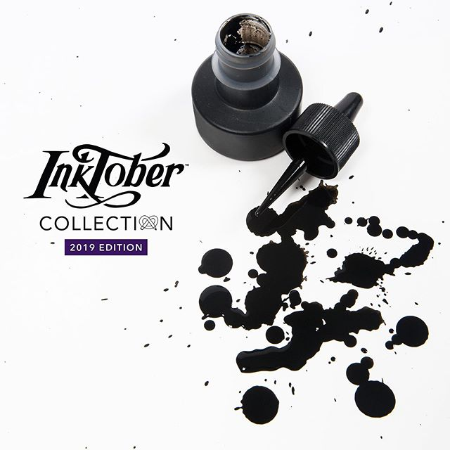 Never participated in Inktober? It's easy, but challenging! There are four simple rules: - Make a drawing in ink using daily prompts. - Post it online. - Hashtag it with #Inktober and #Inktober2019. - Repeat every day of October. You'll need the right tools to take the challenge, so grab yourself a 2019 ArtSnacks Inktober Collection today! (Link in bio) . . #artsnacks #ink #artsupplies #inktober #inktober2019 #jakeparker