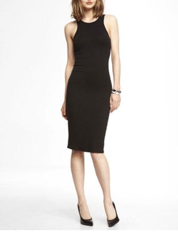 Black Bandage Dress Express