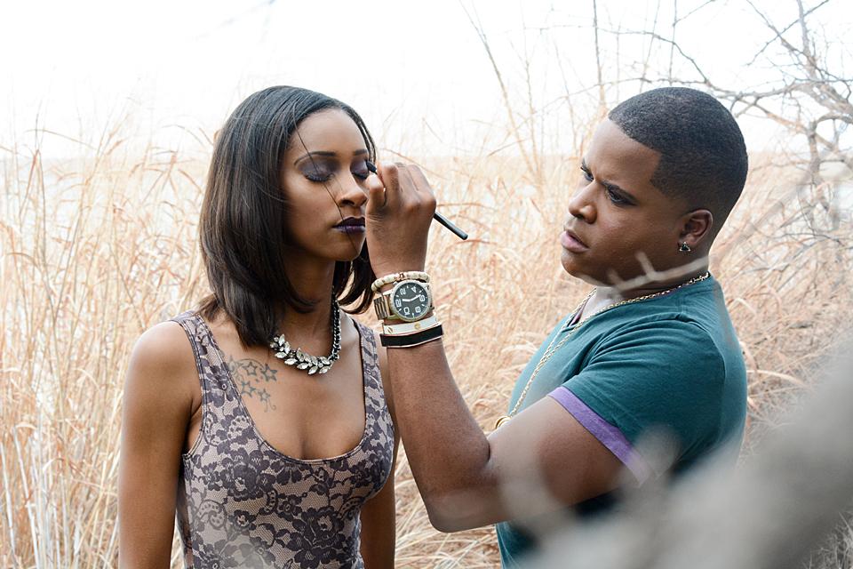 Jazzy Baptiste Wonderland Boudoir Dallas Makeup