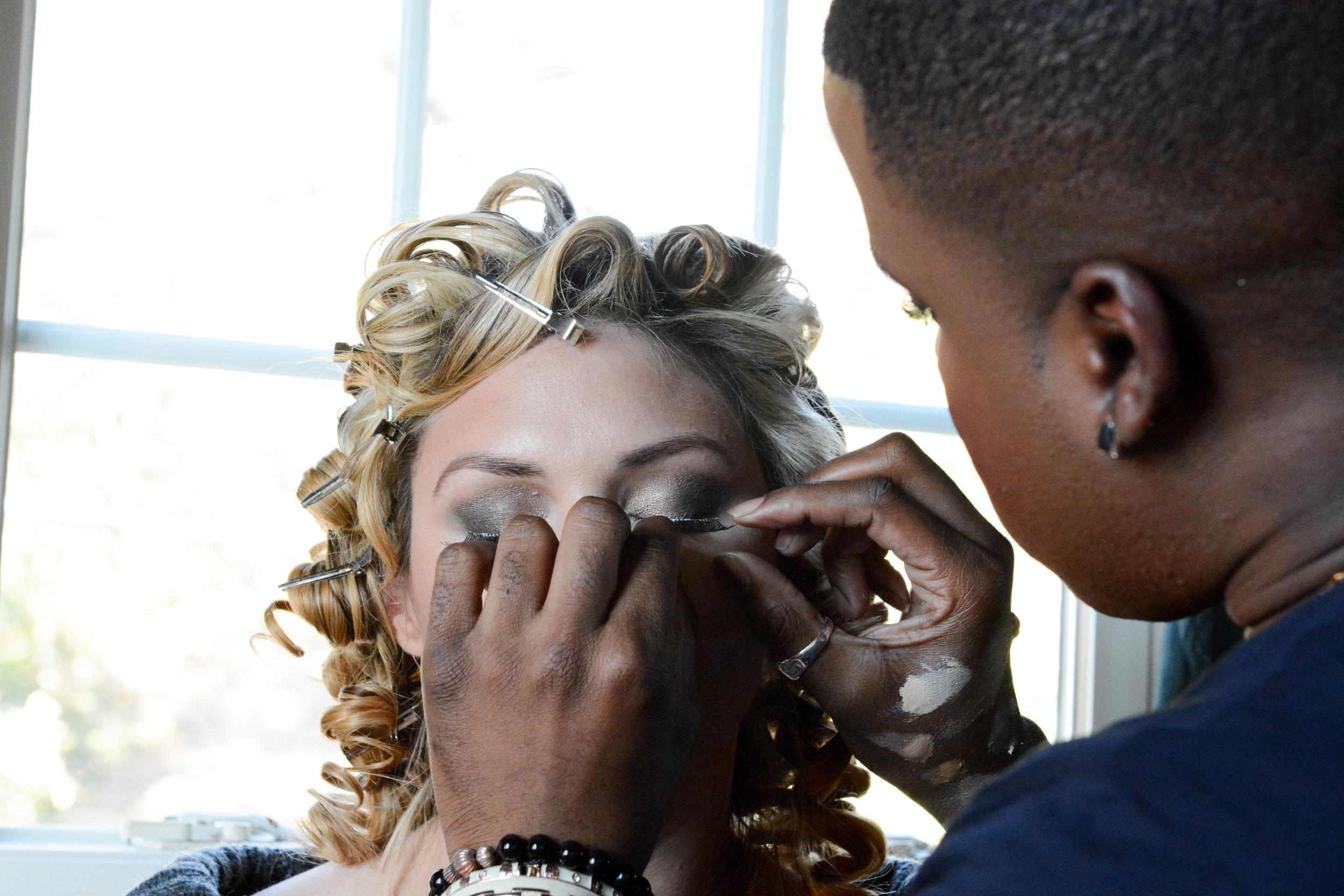 Dallas Boudoir Makeup