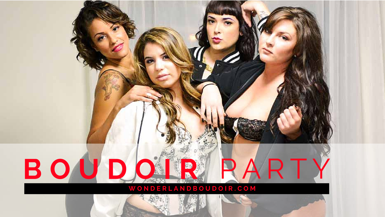 Wonderland Boudoir is a Dallas Boudoir studio who specialized in Boudoir Photography. We offer Boudoir Parties for Brides, birthday, and just a fun girls night out.