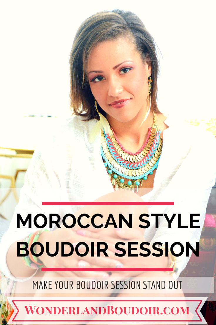 Moroccan Style Boudoir Session in Dallas Texas, Wonderland Boudoir