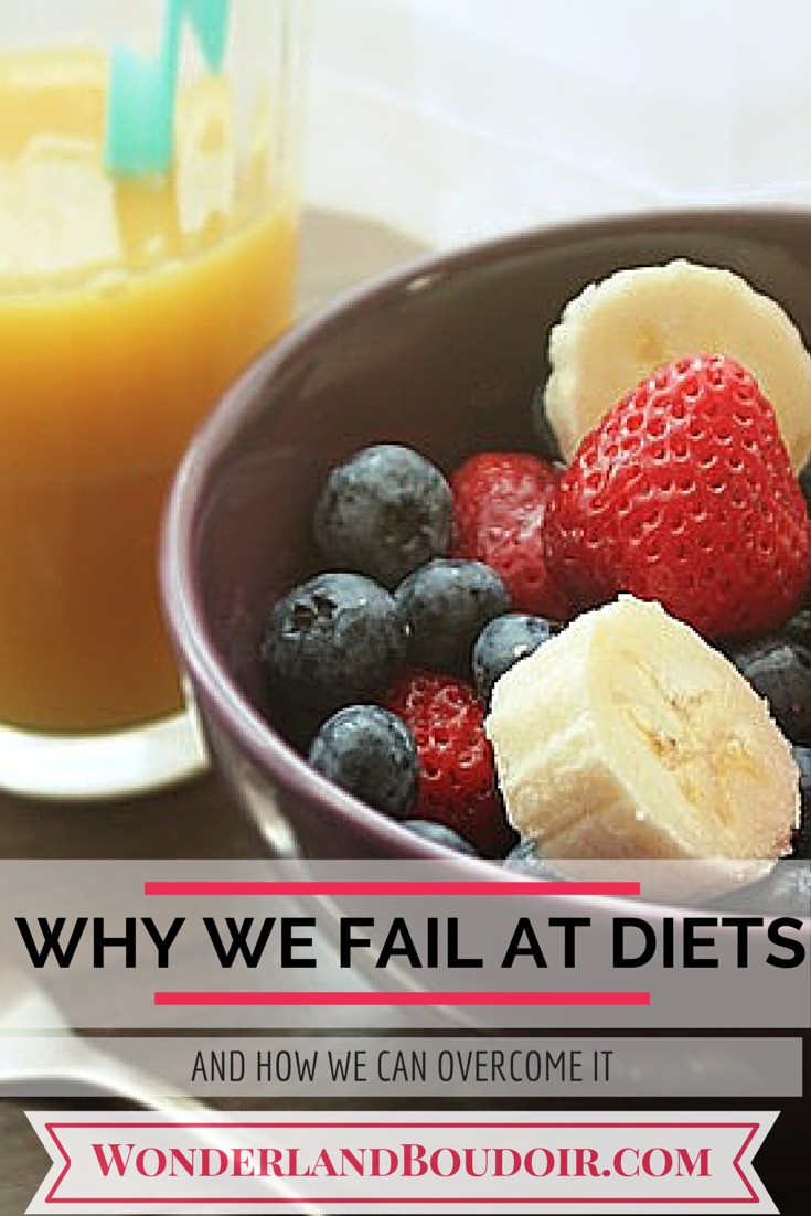 Why we Fail at Diets and How to Overcome It