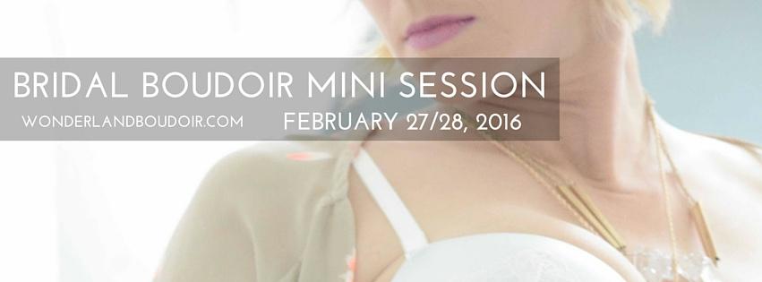 Boudoir Mini Sessions in Dallas