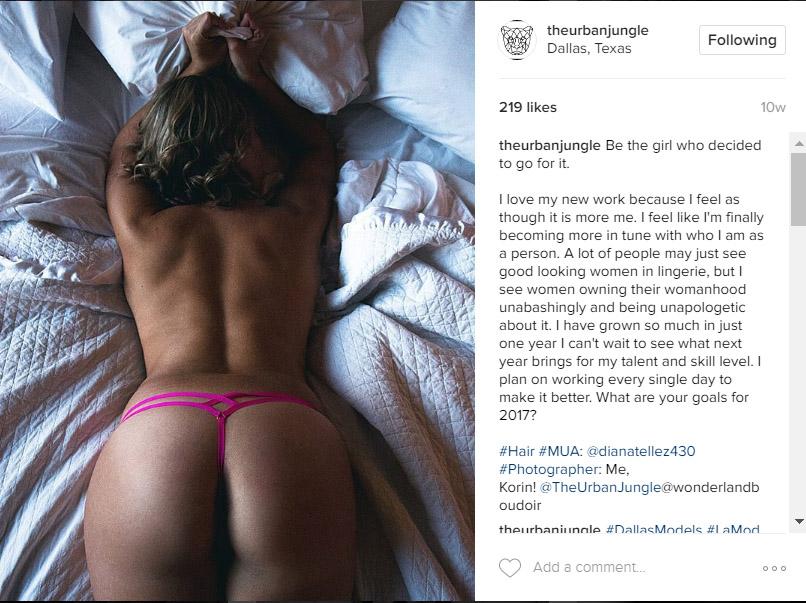 Dallas Boudoir Photography Instagram