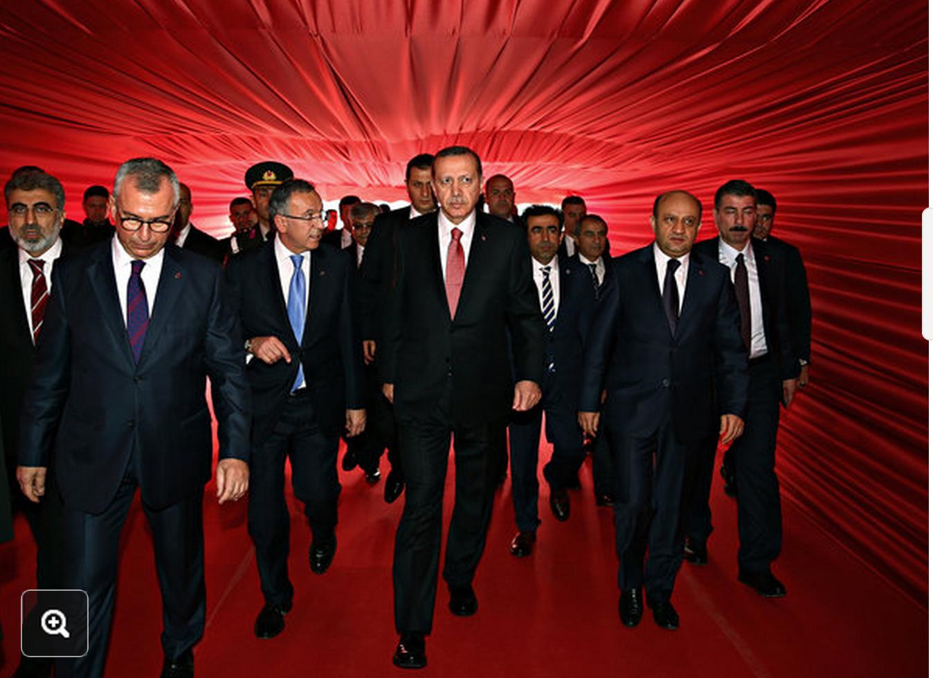 Kayhan Ozer/Presidential Press Service, via Associated