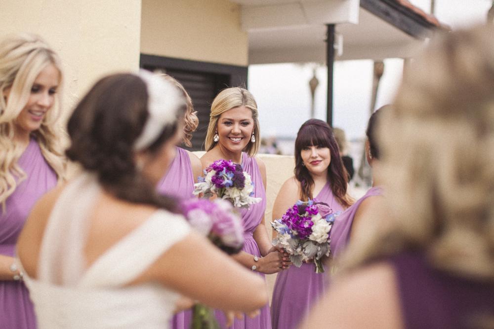 16 bridesmaid before ceremony