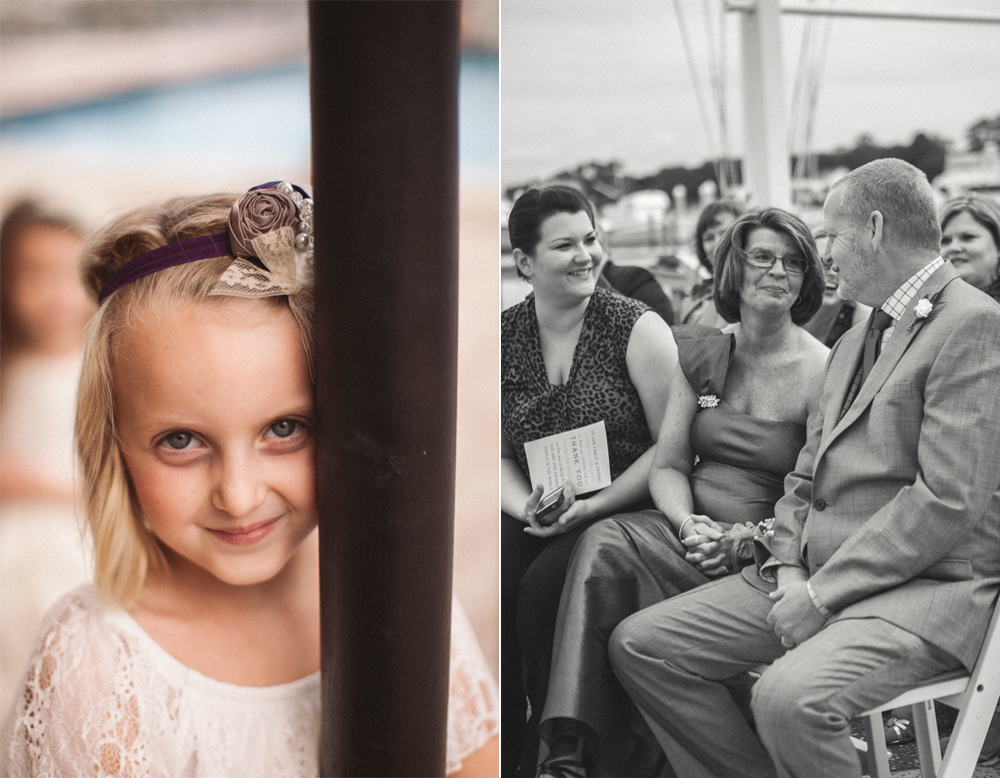 17 grooms parents during ceremony