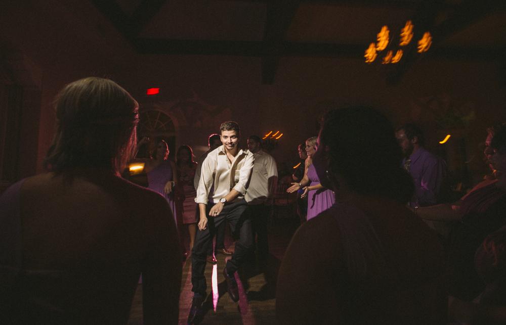 34 groom dancing at reception