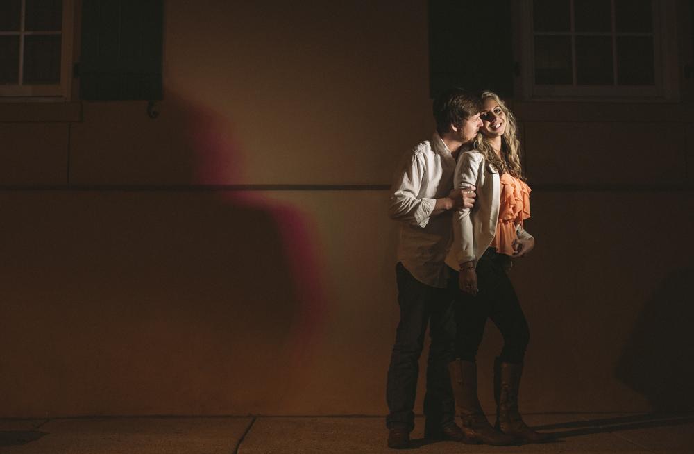 8 artsy engagement session lighting