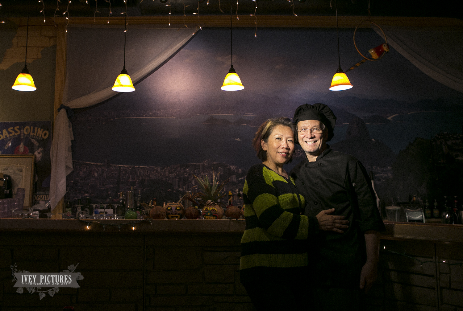 We had a snack at Brasileirissimo Restaurant and Cafe Sol. The food and hot chocolate were amazing and the sweet couple that owns it were nice enough to let us shoot a few pictures. So we shot this picture for them! - Try it out next time you're in St. Augustine. 8 Aviles Street.—