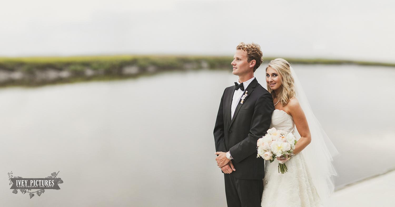 bride and groom portrait amelia island fl