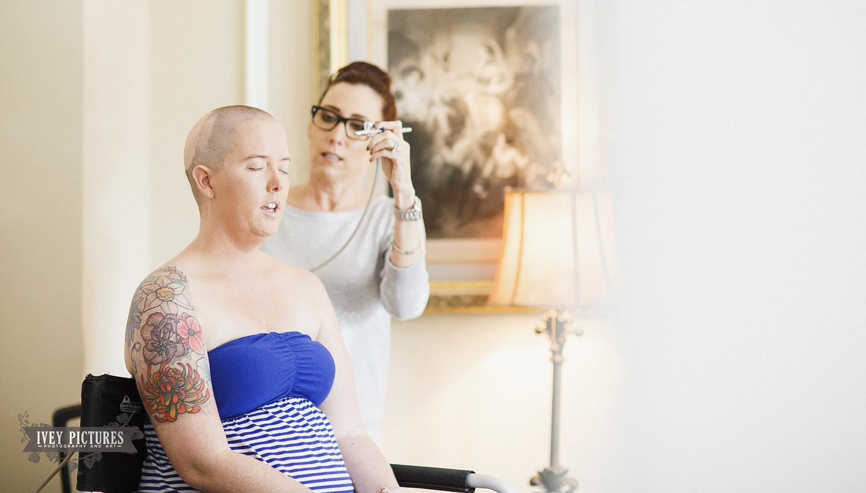 Jill Stonier makeup