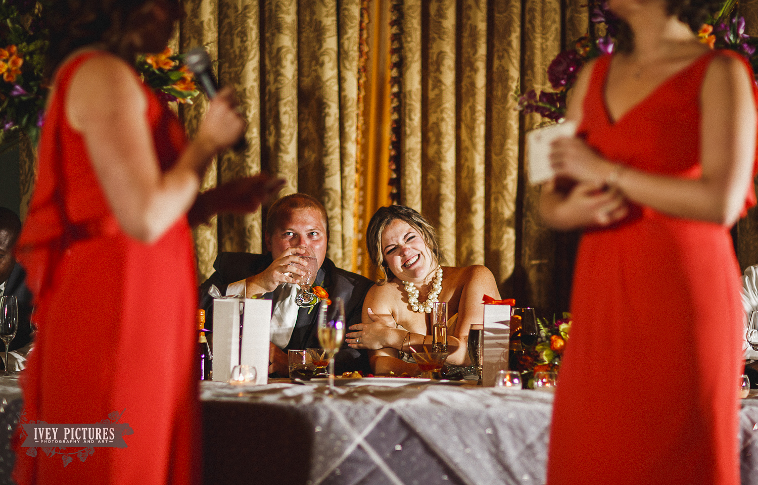 wedding toast to bride and groom